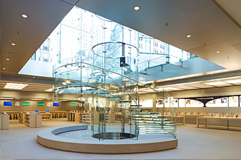 Inside Apple NY