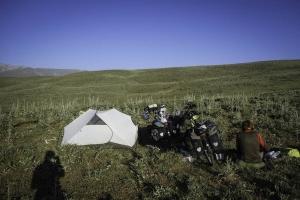 Wild camp in Turkey