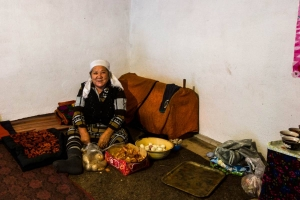This Kyrgyz woman made us relax instantly