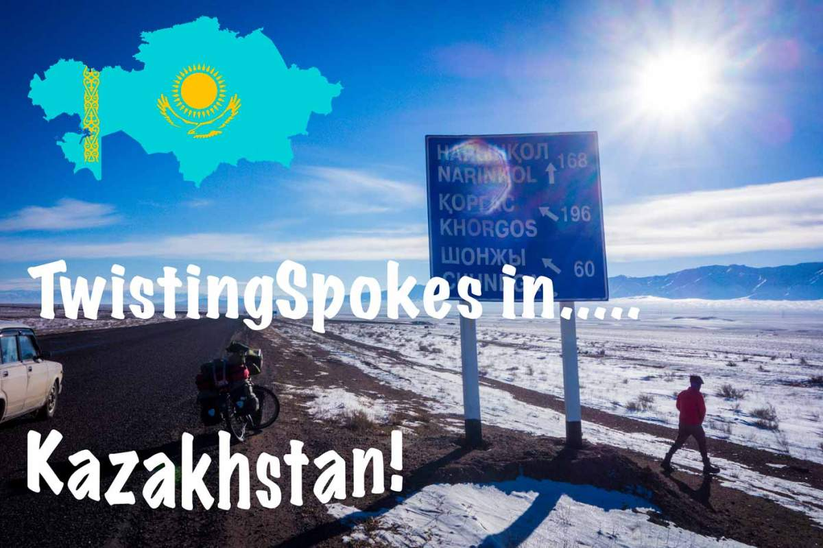 Bicycle touring in Kazakhstan