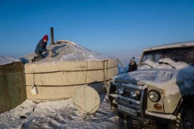 Mongolian hospitality