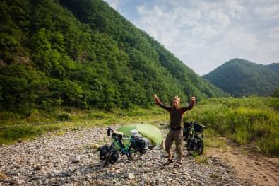 Camping South Korea