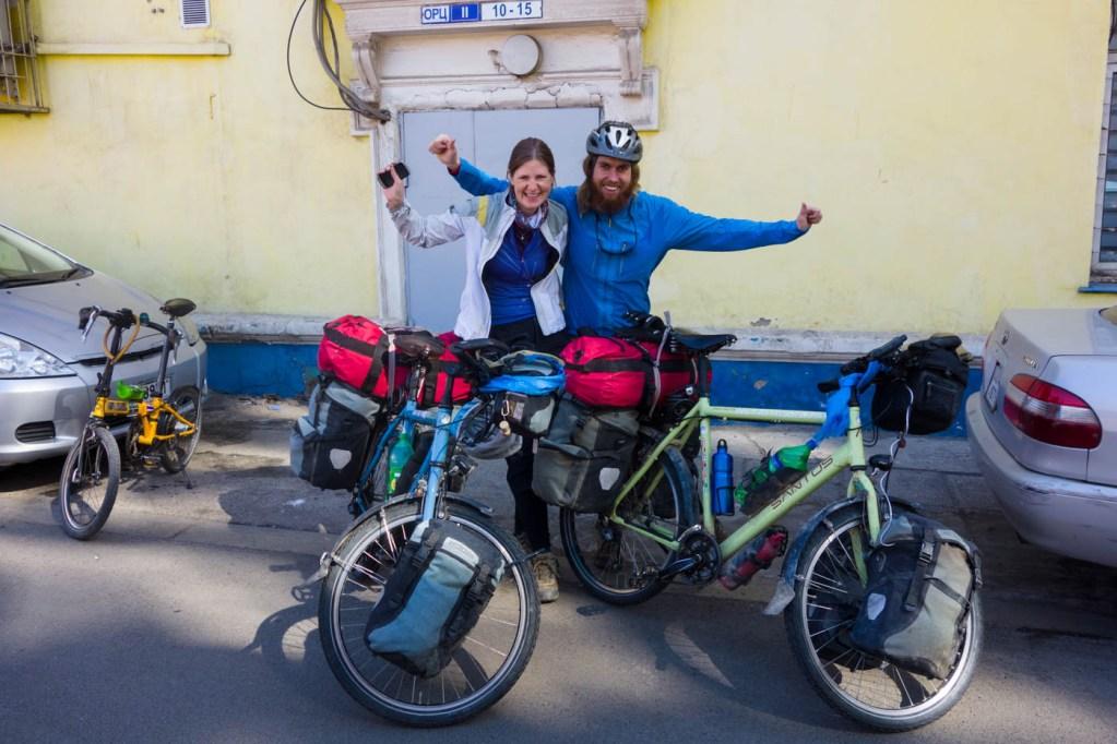 Departing Ulaanbaatar
