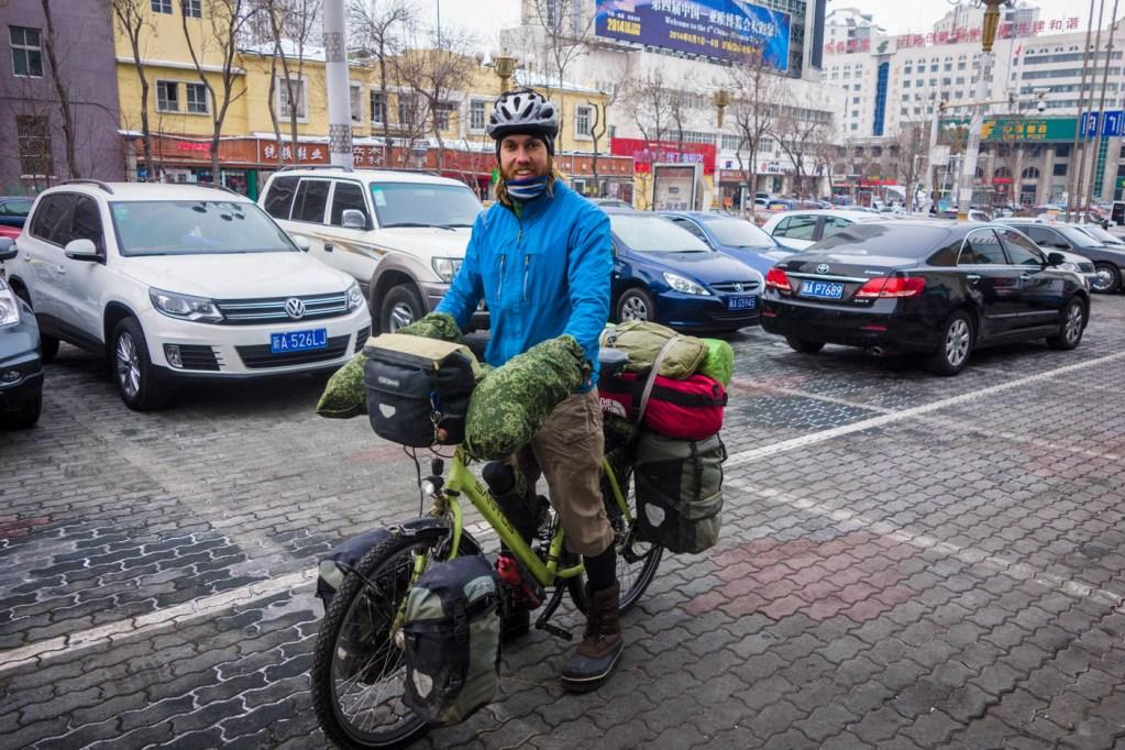 Martin departing Urumqi