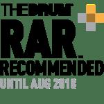 RAR The Drum Digital Awards Logo Finalist, PR and Marketing Agency