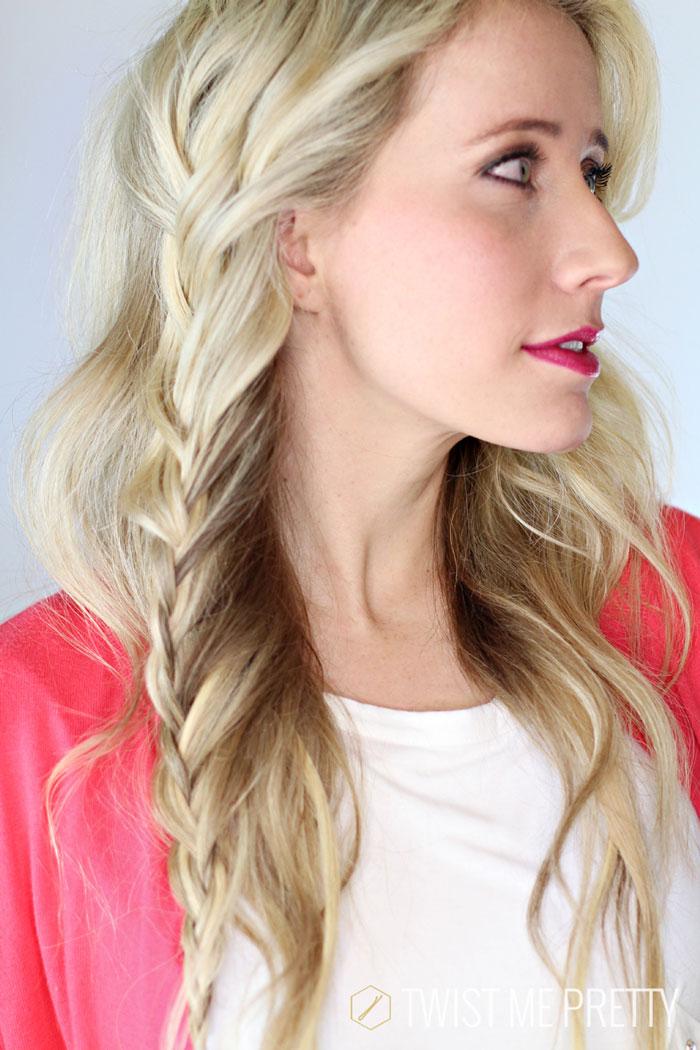 Vertical Lace Braid Day 1 Twist Me Pretty