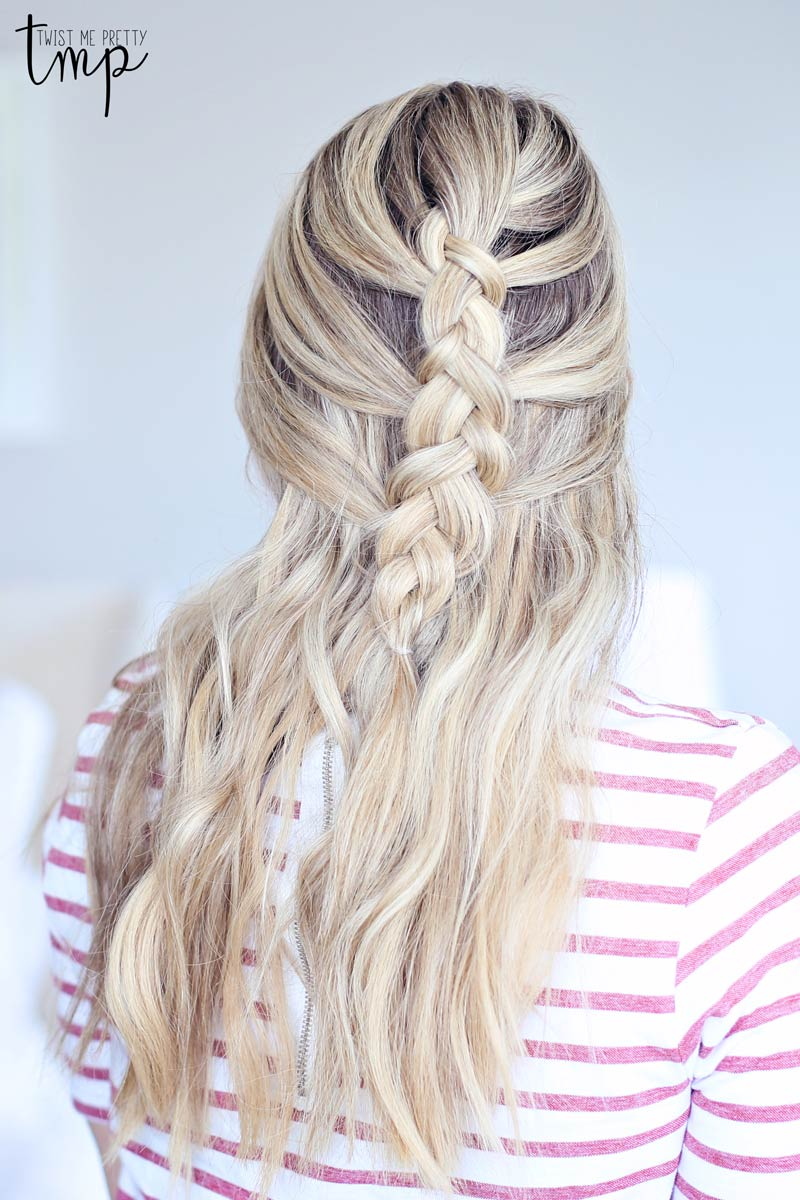 Four Hairstyles For Spring Twist Me Pretty