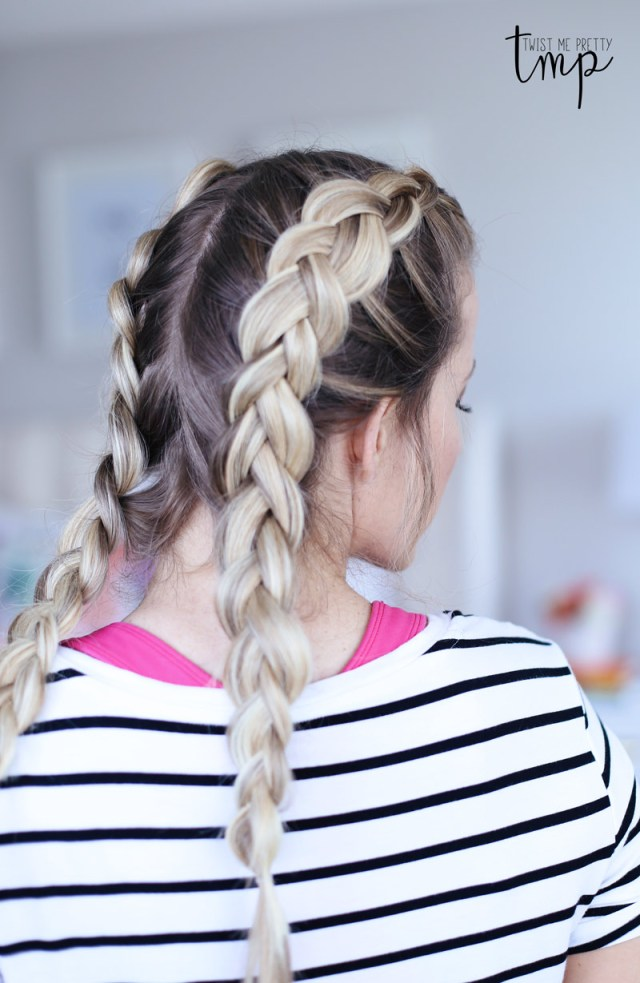 5 workout hairstyles - twist me pretty