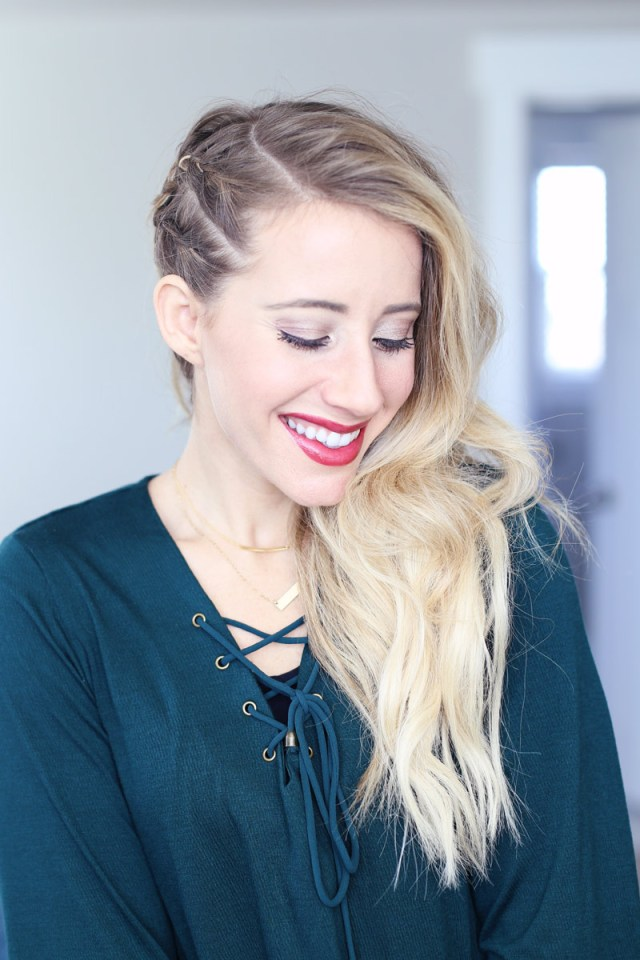new year's eve hairstyle! - twist me pretty