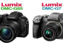 Lumix G7 and G85