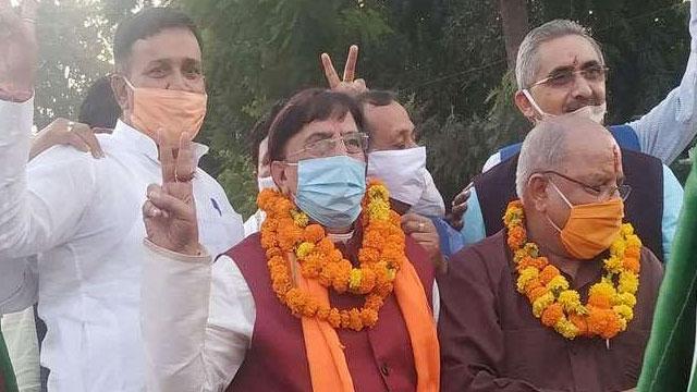 Naresh Bansal Rajya Sabha member elected unopposed
