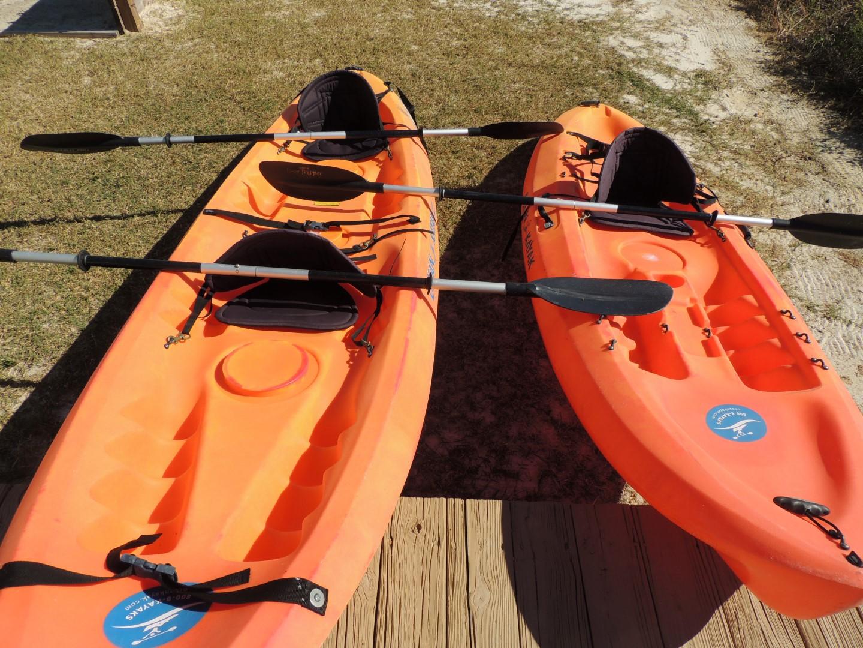 2 Ocean Going Kayaks