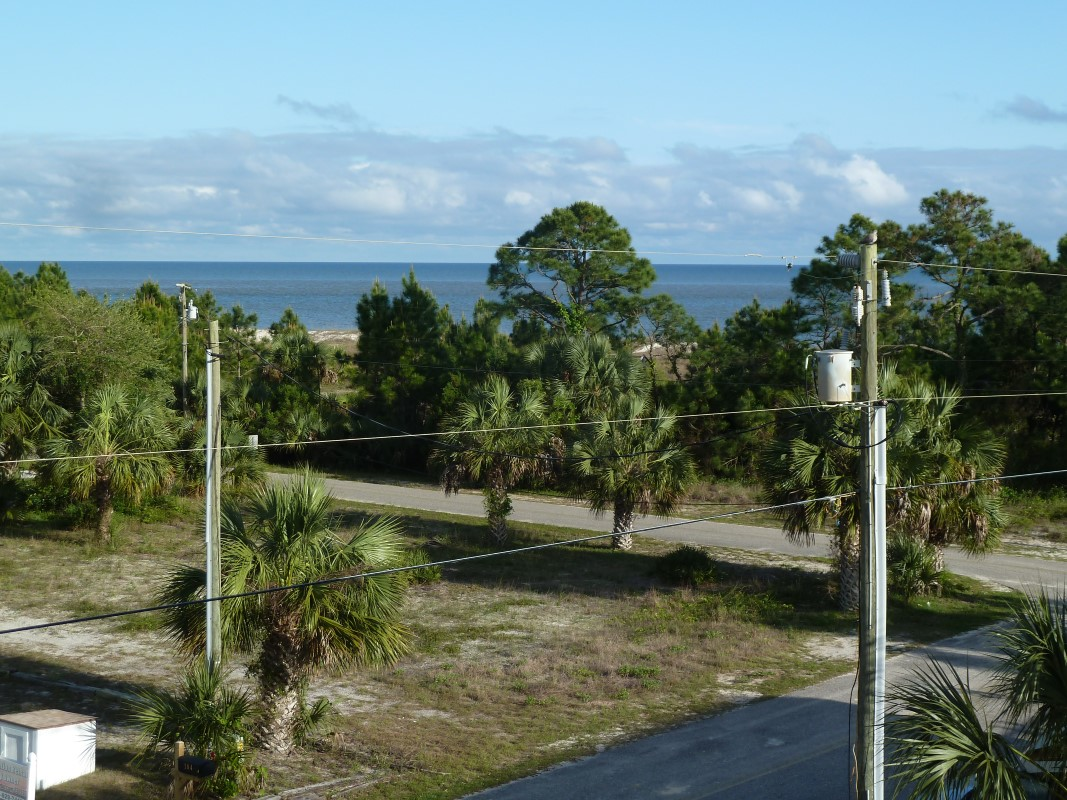 View of Beach and Gulf of Mexico From Deck at Three Palms-15