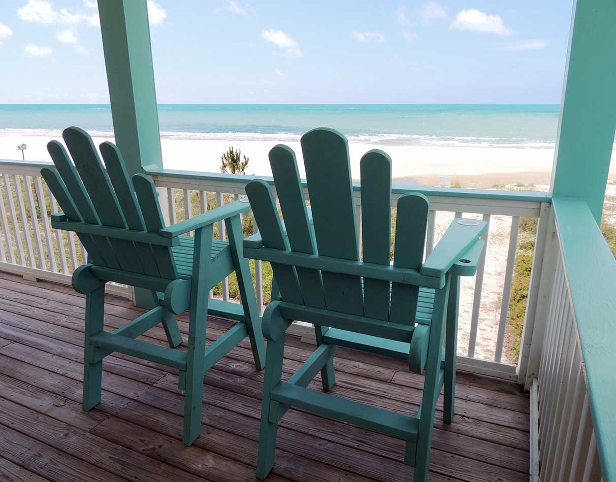 Two Palms Upper Deck-Lifeguard Chairs