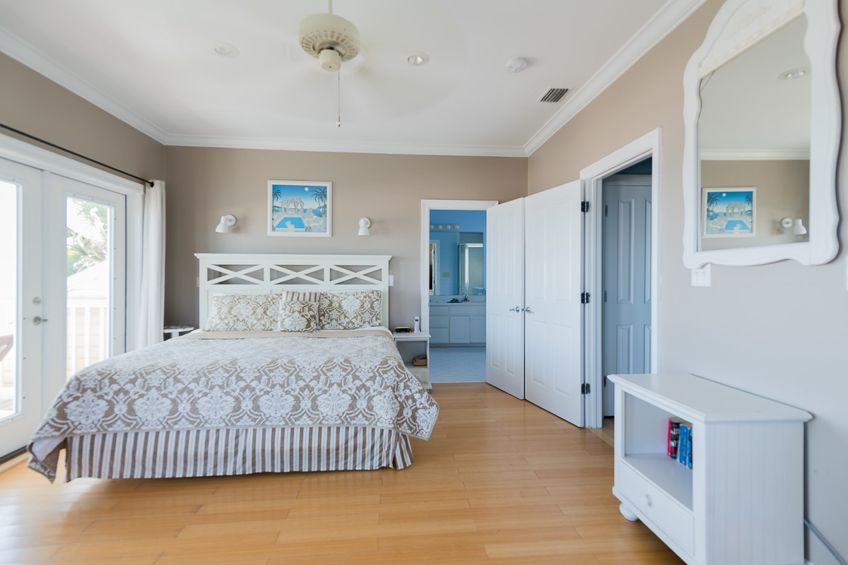 Gorgeous Master Bedroom with Views to Die For