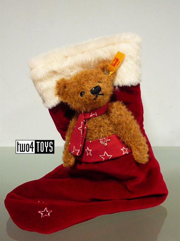 Knit Christmas Stocking Blue