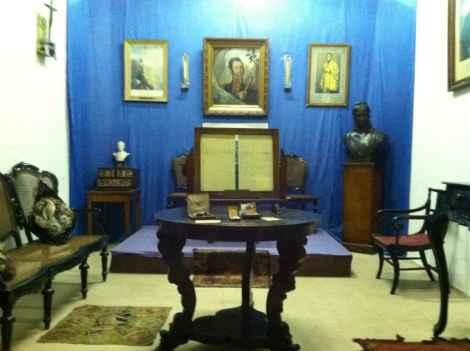 Inside Museo Historico General San Martin