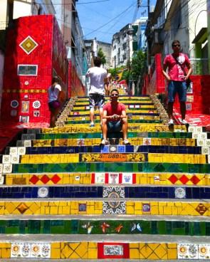 Escadaria Selaron in Rio de Janeiro