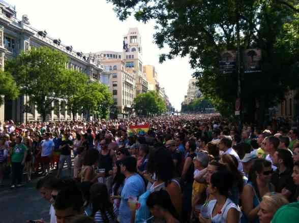 Gay Pride Madrid 2012