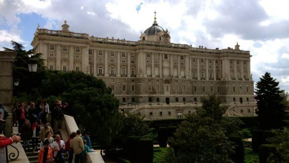 Palacio Real in Old Madrid