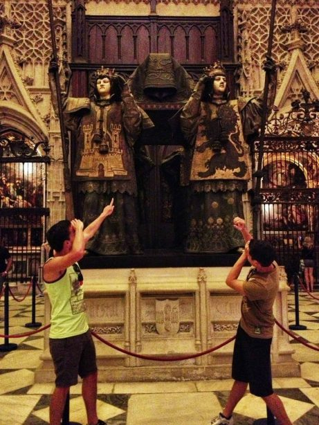 What is actually the tomb of Christopher Columbus