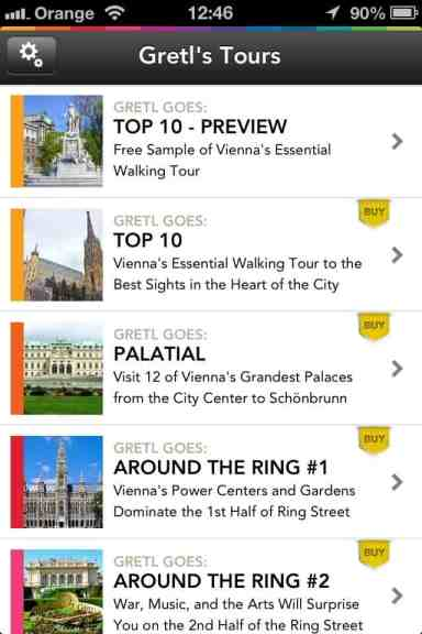 Gretl Goes Vienna Self-Guided Tours