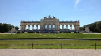 At the gardens of Schönbrunn Palace