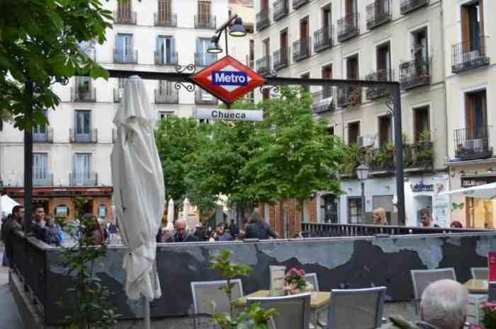 Plaza Chueca / Gay Madrid Chueca