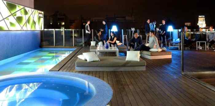 Sky Bar Gay Hotel Axel Barcelona