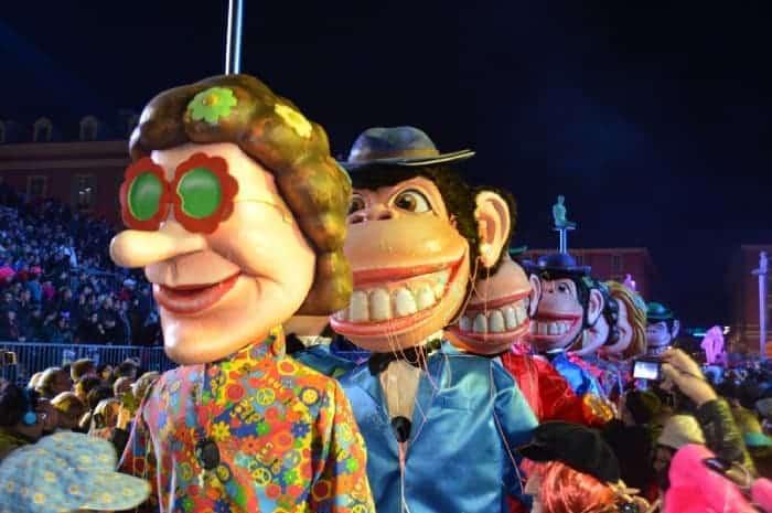 Gay Carnival in Nice, France