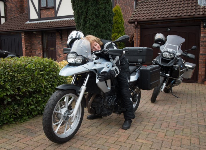 At last we got our BMW F800 GS :)