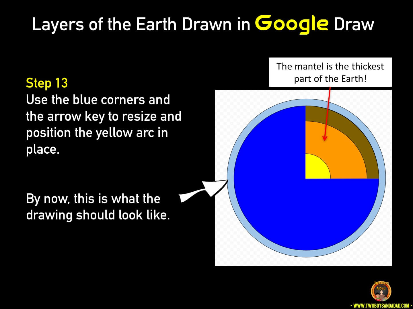 Use Google Draw in the classroom Step 13