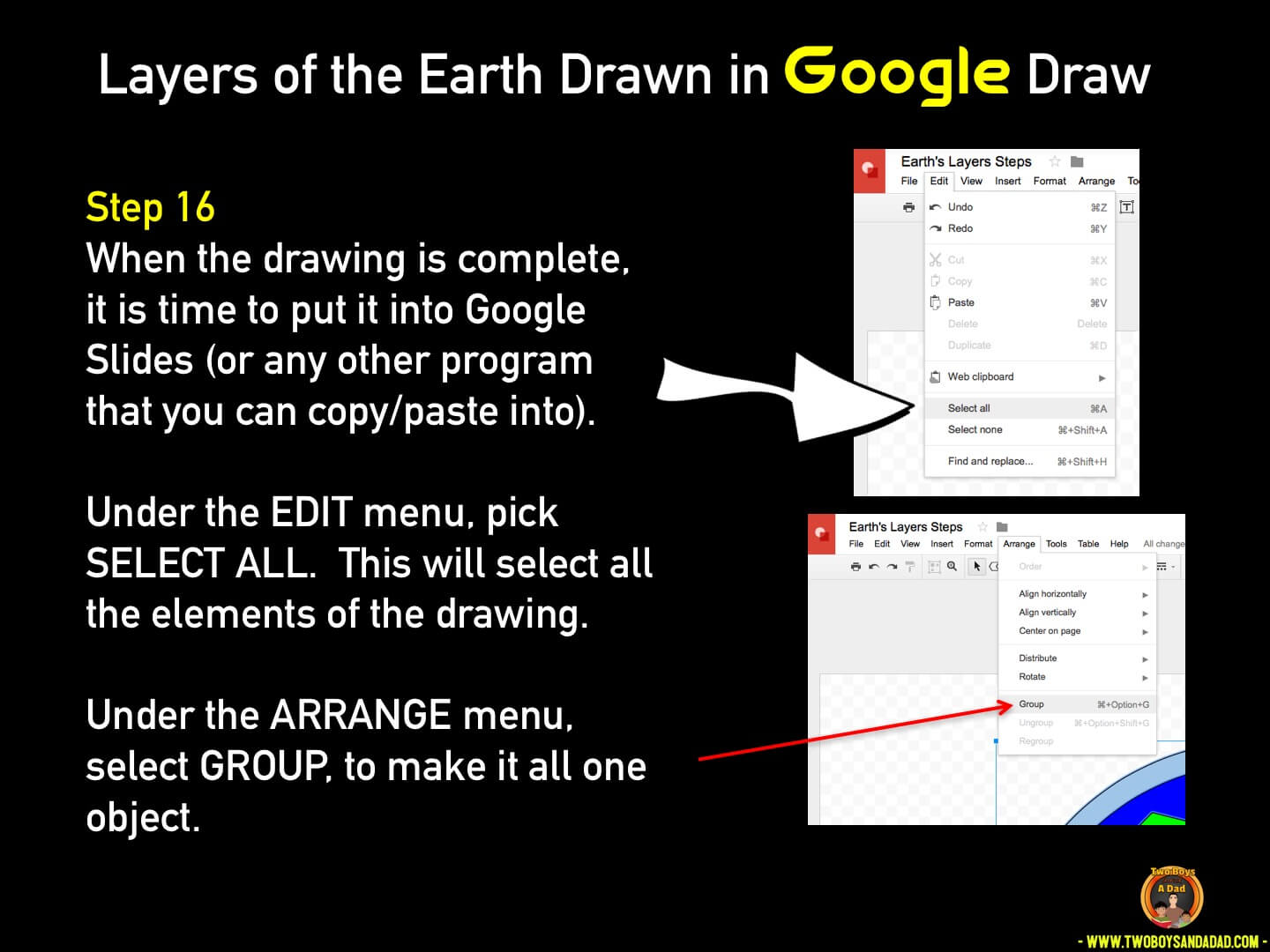 Use Google Draw in the classroom Step 16