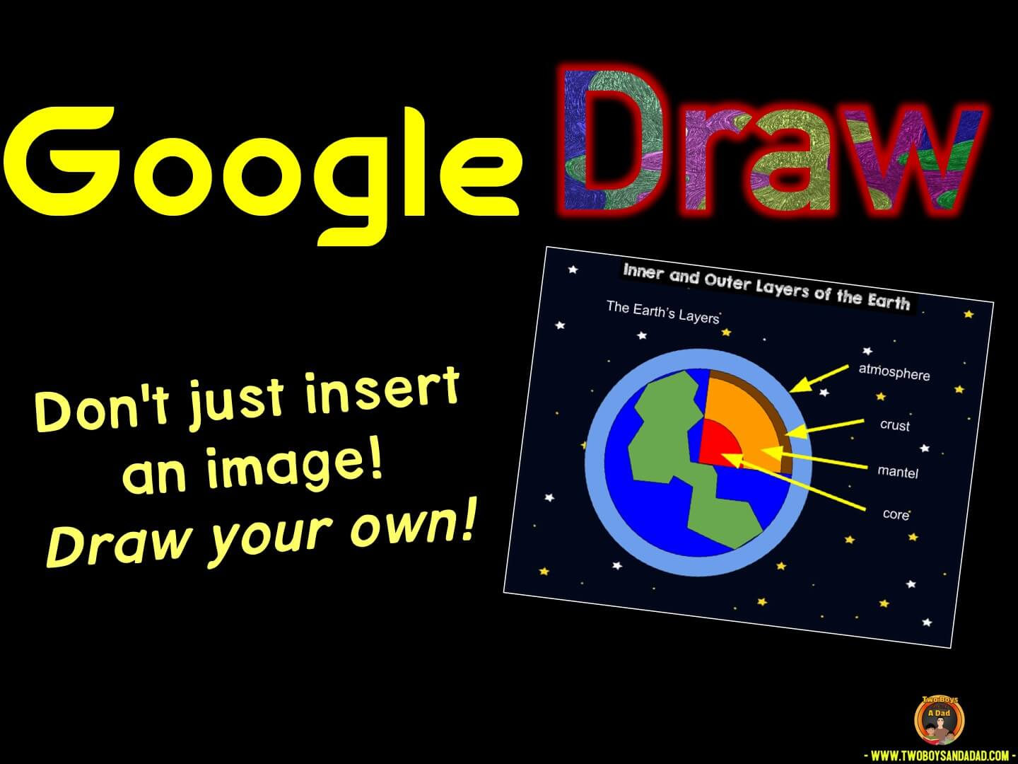 Use Google Draw in the Classroom