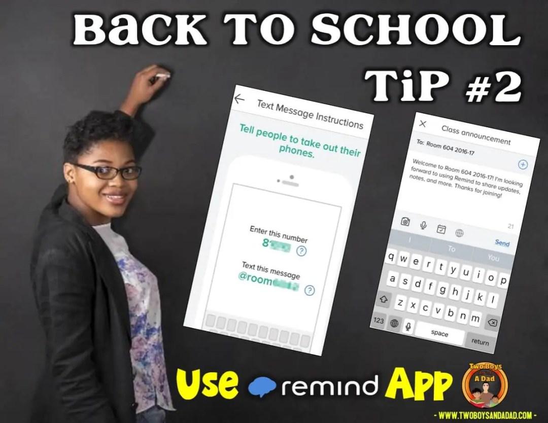 Back to School Tip Keep Parents Informed