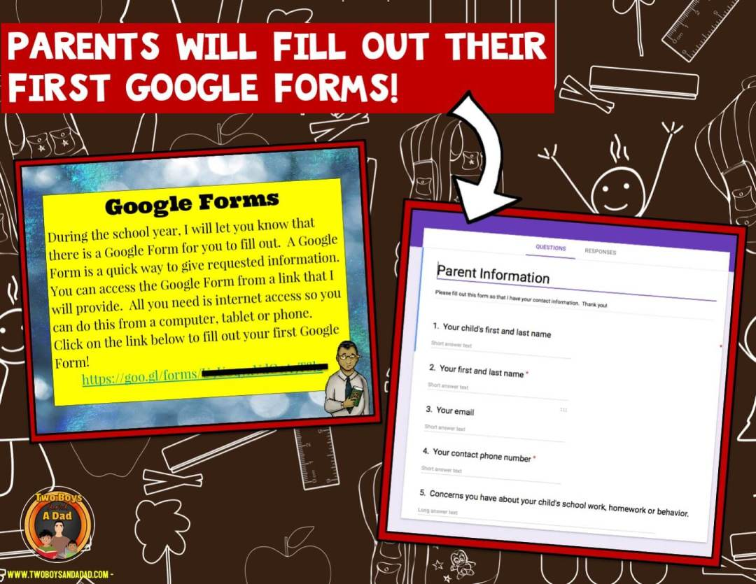 Google Classroom and Google Forms