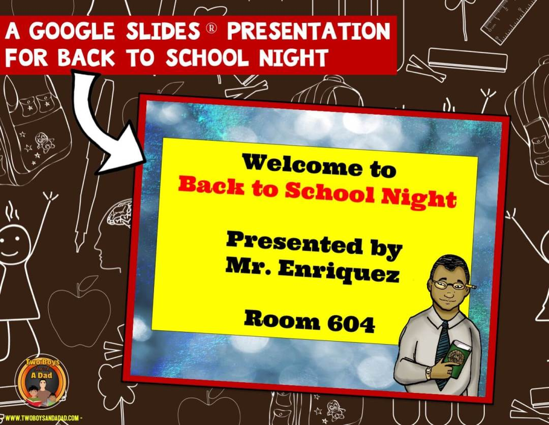 Google Slides Back to School Presentation