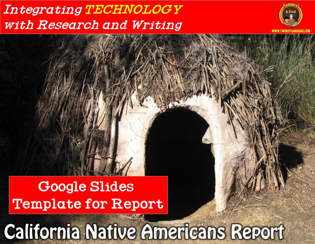 integrating technology California Native Americans Report