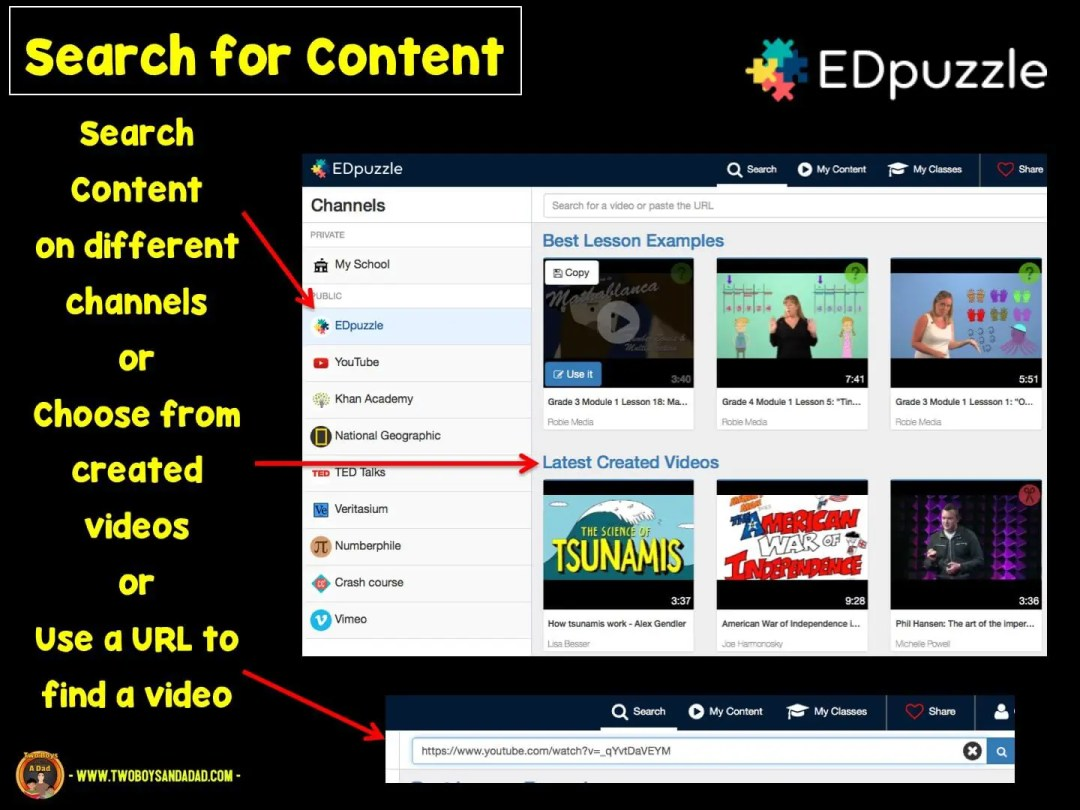 Lots of of ways to search for videos