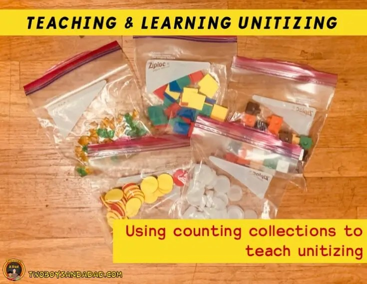Bags of objects for counting collections