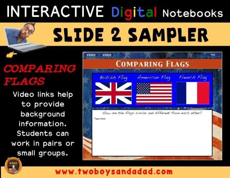 Digital Notebook Sampler Slide 2
