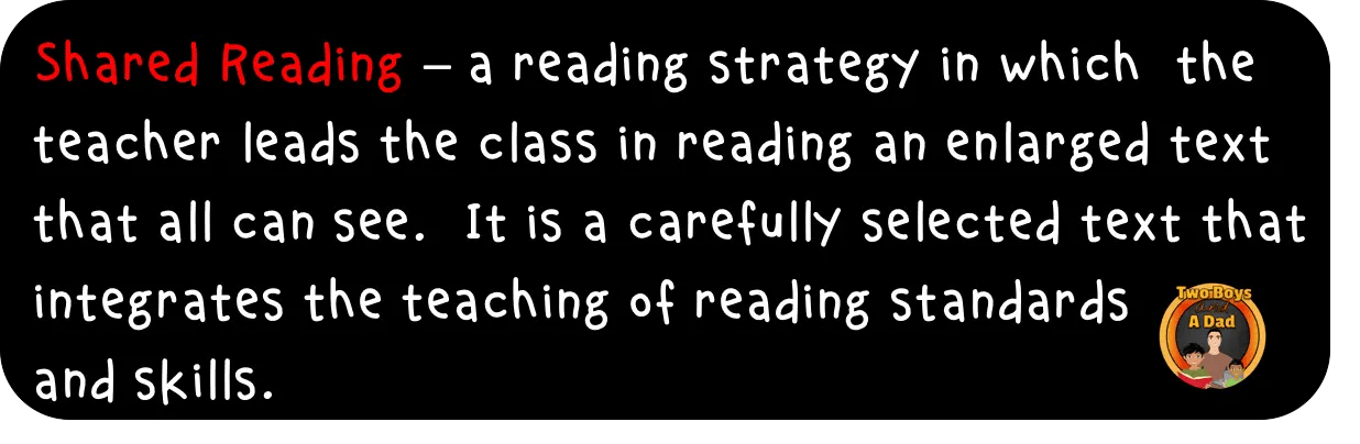 Shared Reading Definition