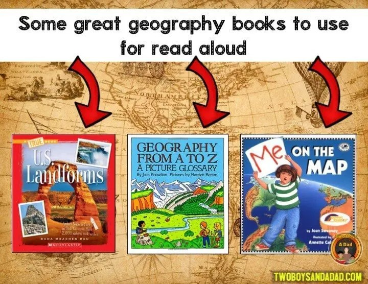 Use these books to teach geography