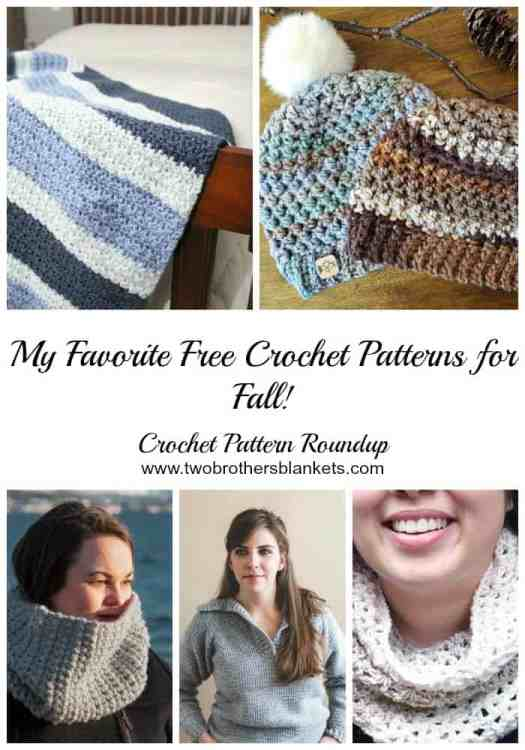 My Favorite Free Crochet Patterns For Fall Two Brothers Blankets