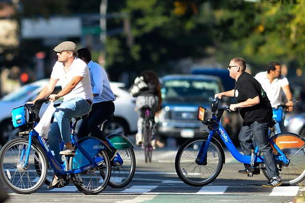 A celeb and a Citi Bike