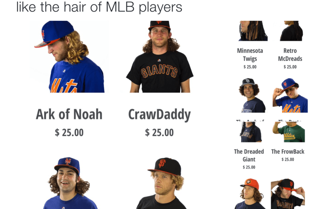 This Website Sells Wigs So You Can Look Like Your Favorite MLB Player