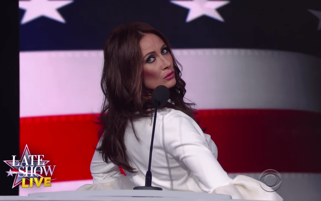 Late Night In The Morning: Melania Trump Defends Herself Against Plagiarism Allegations