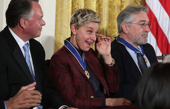 Ellen Was Awarded The Medal of Freedom And We All Choked Up