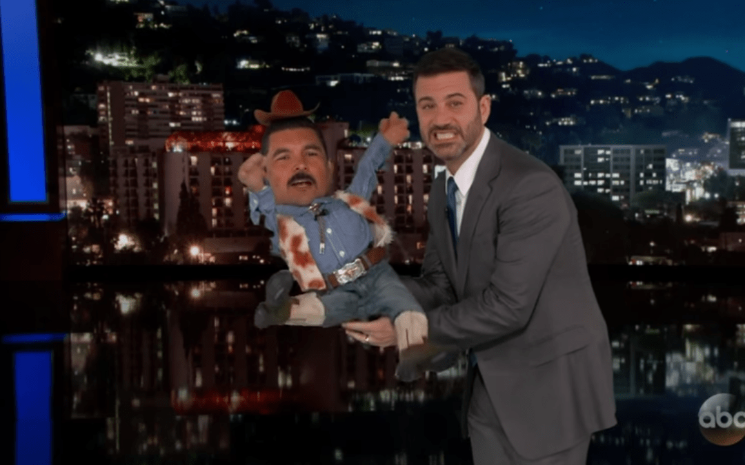 Late Night in The Morning – Jimmy Kimmel Appears On Stage At The CMA Awards As A Hologram