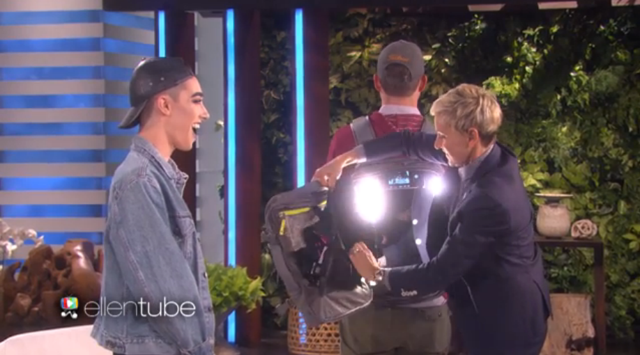 A High School Senior From Upstate Appeared On Ellen Today
